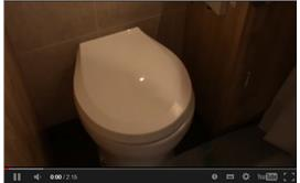 A Pumpout Toilet on a Narrowboat (inside)