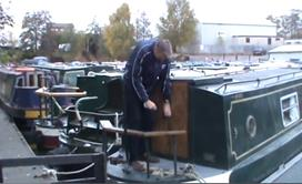 Overplating a Narrowboat 1