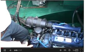 A Typical Narrowboat Engine