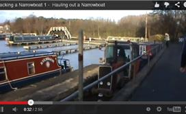 Blacking a Narrowboat 1 - Hauling out a Narrowboat