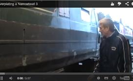 Overplating a Narrowboat 3