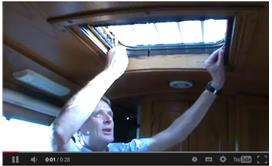 Houdini Hatch on Narrowboat